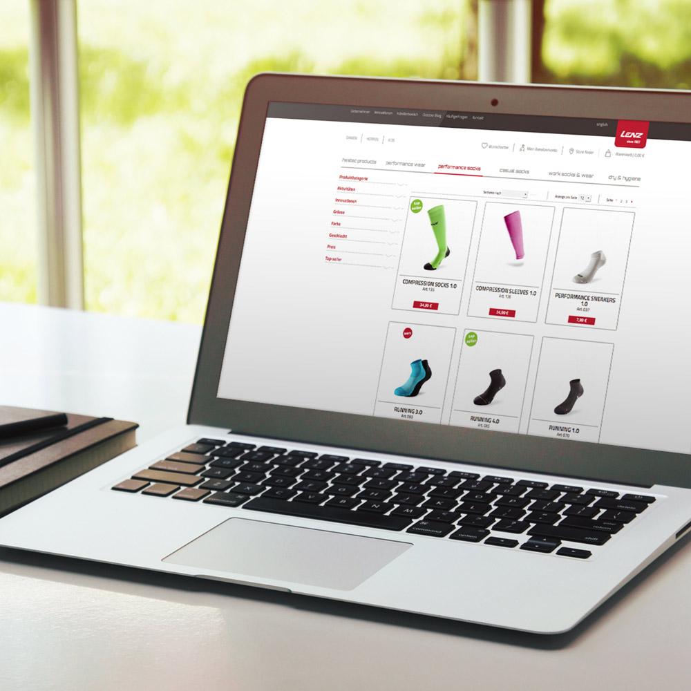 Lenz Online Shop